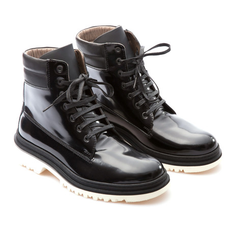 Alessandro Army Boot // Black (Euro: 39)
