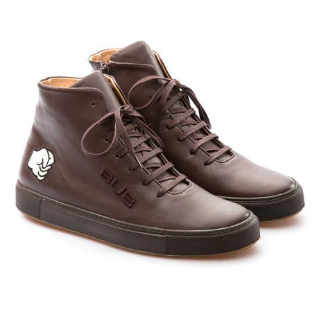 Hammer High Top Sneaker // Brown (Euro: 39)