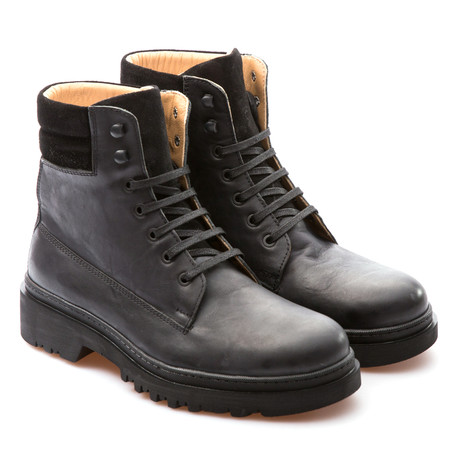 Jonathan Army Boot // Black (Euro: 39)