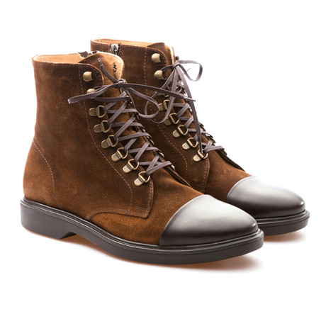 Rodrigo Laced Boot // Tobacco + Brown (Euro: 39)