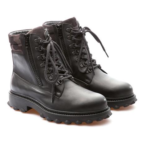 Rocky Army Boot // Black (Euro: 39)
