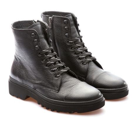 Ivan Cap Toe Boot // Black (Euro: 39)