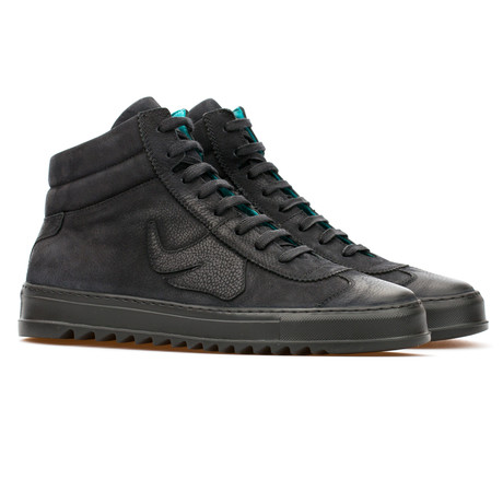 Shaun High Top Sneaker // Black (Euro: 39)