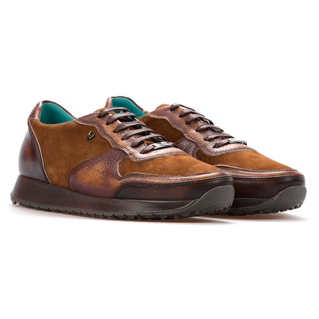 Andre Low Top Runner // Tobacco (Euro: 39)