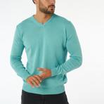 Zolia Sweater // Mint (L)