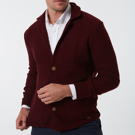 Fernando Sweater // Bordeaux (S)