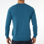 Zolia Sweater // Petrol Blue (XL)