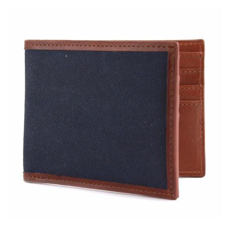 Langdale Bi-Fold Wallet // Navy