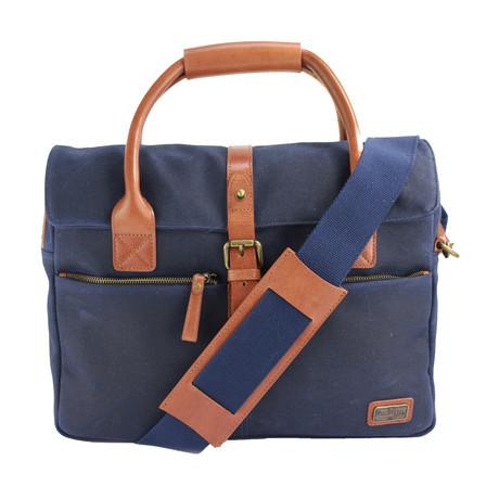 Langdale Briefcase // Navy