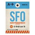 SFO San Francisco Luggage Tag