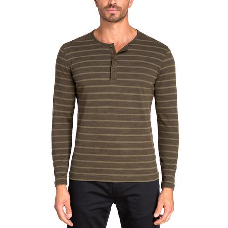 Henley Long Sleeve Knit // Fern Green (S)