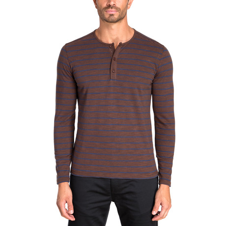 Henley Long Sleeve Knit // Total Eclipse (S)