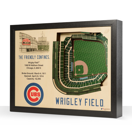 Chicago Cubs // Wrigley Field // 25-Layer