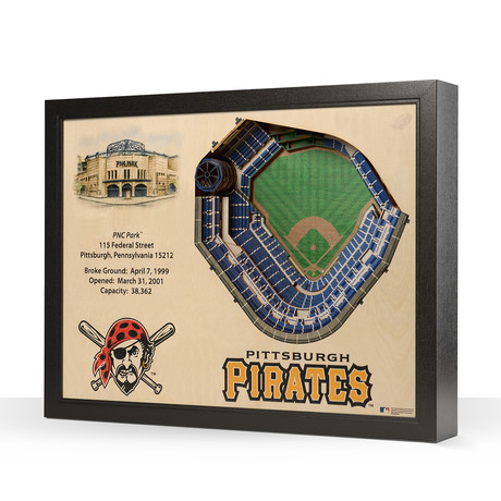 Pittsburgh Pirates // PNC Park // 25-Layer