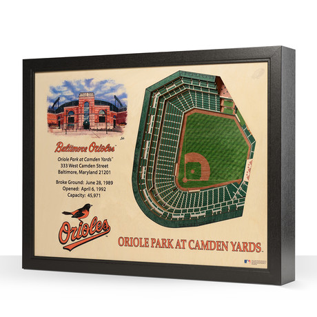 Baltimore Orioles // Oriole Park at Camden Yards // 25-Layer