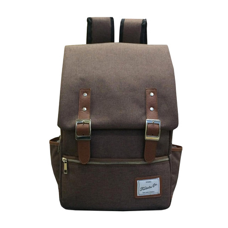Zach Backpack // Brown