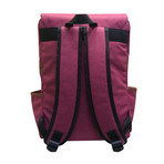 Ethan Backpack // Claret Red