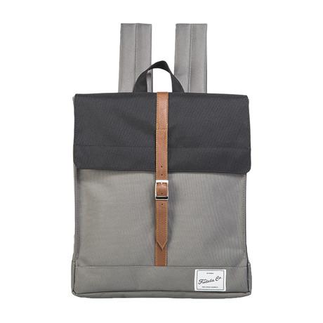 Robert Backpack // Black + Gray