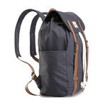 Cale Backpack // Navy Blue
