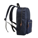 Adam Backpack // Navy Blue