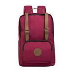 Marcus Backpack // Claret Red