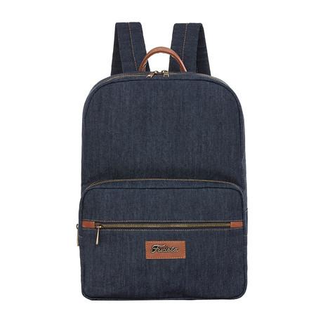 Lucas Backpack // Denim