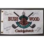 Caddyshack // Signed Bushwood Pin Flag
