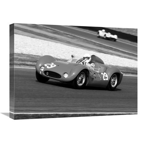 "Historical Race-Cars II (24""W x 18""H x 1.5""D)"
