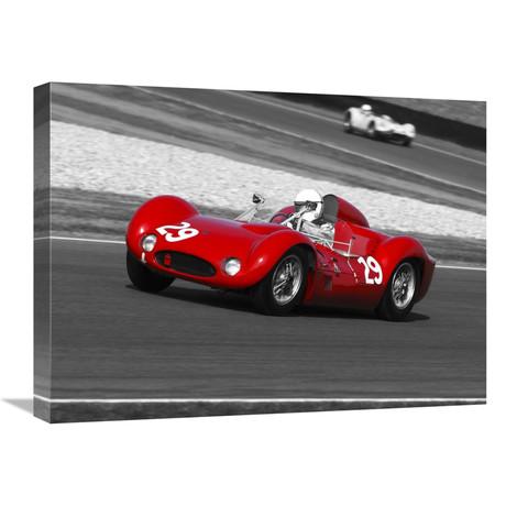 "Historical Race-Cars (24""W x 18""H x 1.5""D)"