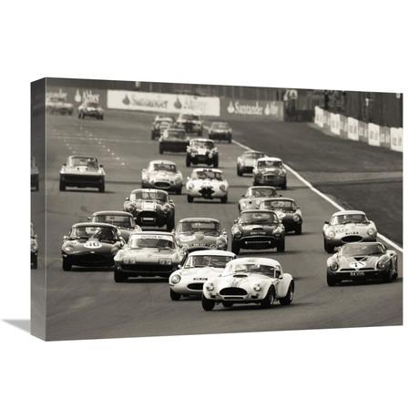 "Silverstone Classic Race (22""W x 16""H x 1.5""D)"