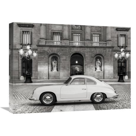 """Vintage Sports-Car 2 (24""""W x 18""""H x 1.5""""D)"""