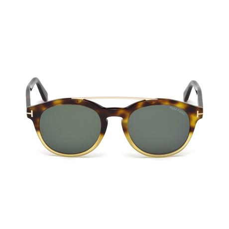 Men's Newman Sunglasses // Havana + Green