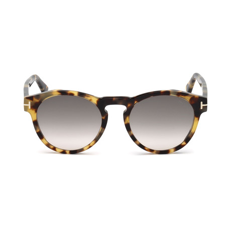 Men's Margaux Sunglasses // Colored Havana + Smoke Gradient