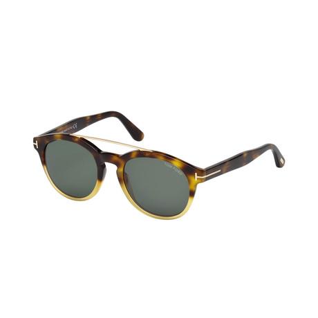 Men's Newman Sunglasses // Tortoise + Gray