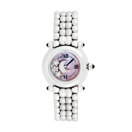 Chopard Ladies Happy Sport Stars and Moon Quartz // 8245 // Pre-Owned