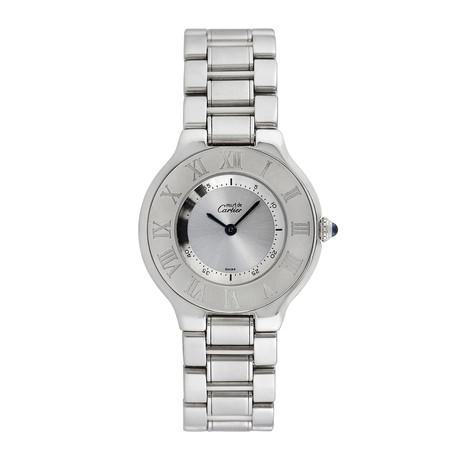 Must de Cartier Ladies Midsize Quartz // Pre-Owned