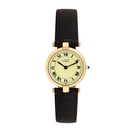 Must de Cartier Ladies Quartz // 764-TM11402 // Pre-Owned
