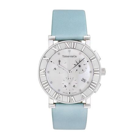 Tiffany & Co. Ladies Atlas Chronograph Quartz // Z0007.32 // Pre-Owned