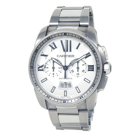 Cartier Calibre de Cartier Chronograph Automatic // W7100045 // Pre-Owned