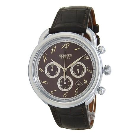 Hermes Arceau Chronograph Automatic // AR4.910 // Pre-Owned
