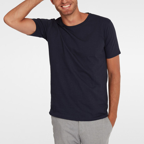 T-Shirt // Navy Blue (XS)