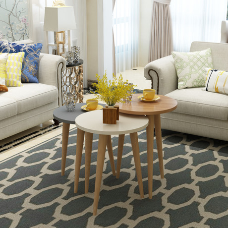Tale Accent 3 Piece Coffee Table Set
