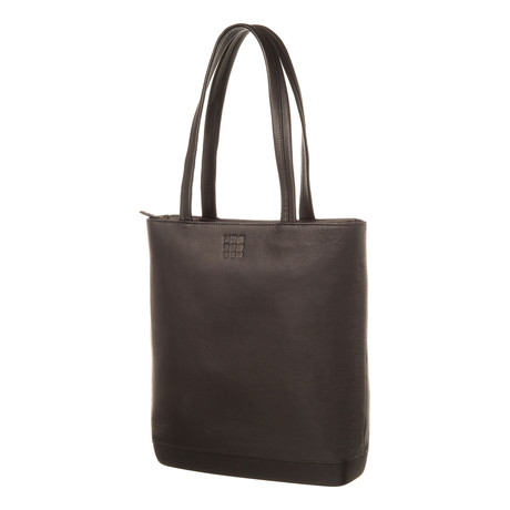 Leather Bag Tote // Black 2016