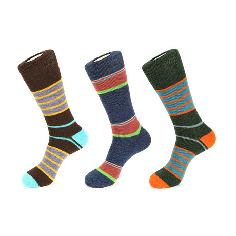Centennial Boot Socks // Pack of 3
