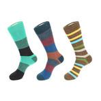 Wonderland Boot Socks // Pack of 3