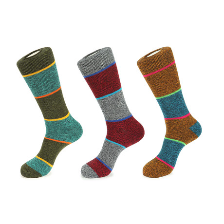 Coastal Boot Socks // Pack of 3