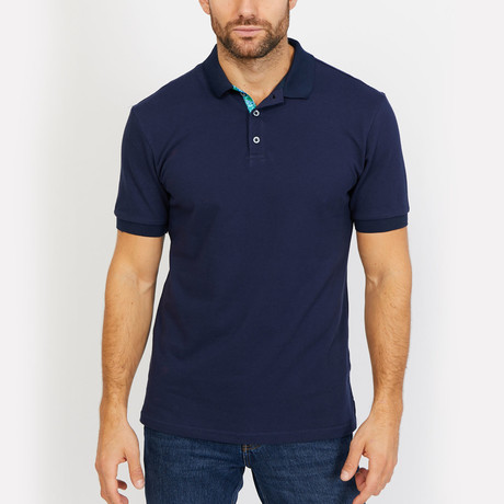 Colton Polo Button Up Shirt // Royal Blue (Small)