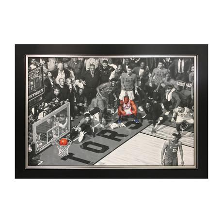 Kawhi Leonard // Framed Canvas
