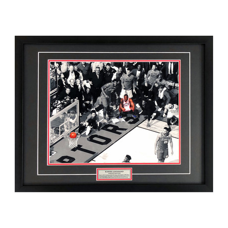 Kawhi Leonard // Photo Display // Toronto Raptors Game 7 Buzzer Beater