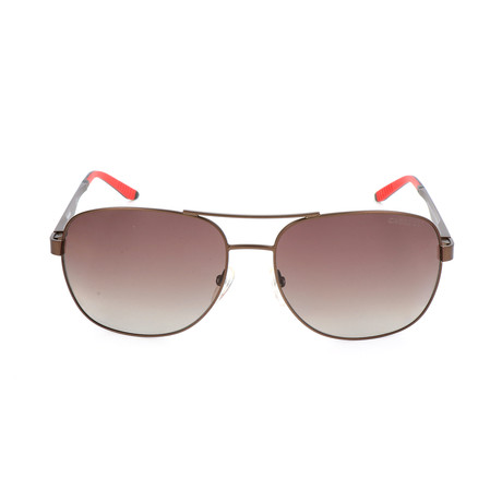 Men's 8015S Sunglasses // Semi-Matte Brown